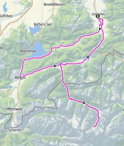 Map / Eng-Runde... Genusstour pur! (125km kurze Variante)