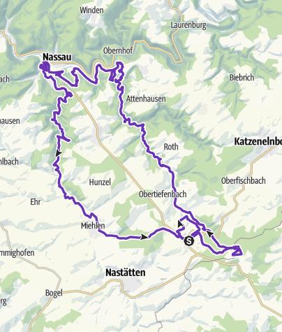 """Mapa / Schinder-Trail """"Grauer Kopf"""""""
