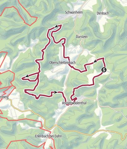 Karte / Wasgau-Felsenweg