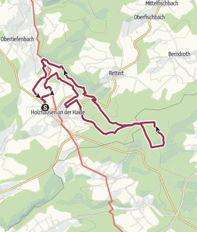 Karte / Schinder-Trail Panorama Trail Walk