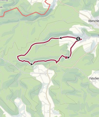 Karte / Neuschleichach 9km