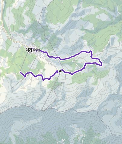 Karte / Sörebärger Tüürli