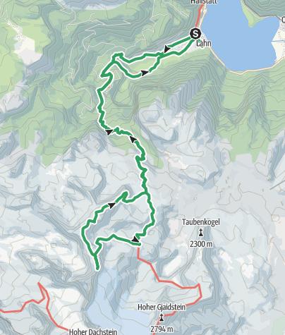 מפה / Wildkar Klettersteig