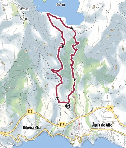 Karte / Lagoa do Fogo