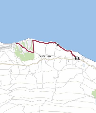 Karte / Von Santana nach Lajido