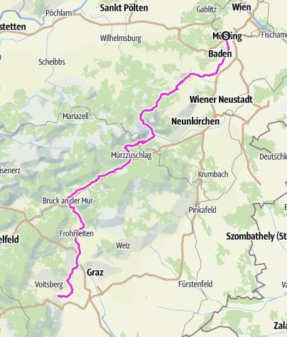 Mapa / Home to home - Road