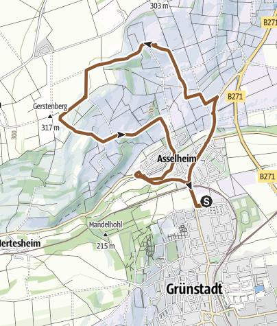 Karte / Kurzer Austritt