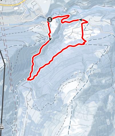 Map / Sedrun - Uaul Cavorgia Rundtour