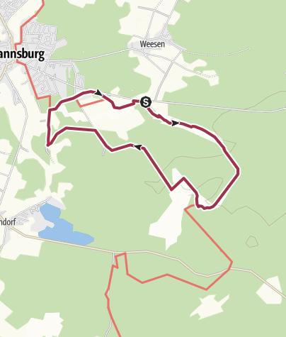 Karte Lüneburger Heide Und Umgebung.Lüneburger Heide Np Südheide D Misselhorner Heide Wanderung