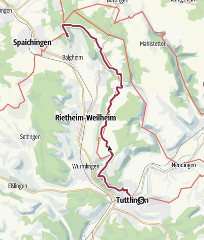 Karte / 9 Tuttlingen - Spaichingen