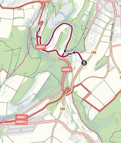 Karte / KinderWanderSpaß: Zum Dreimühlen-Wasserfall