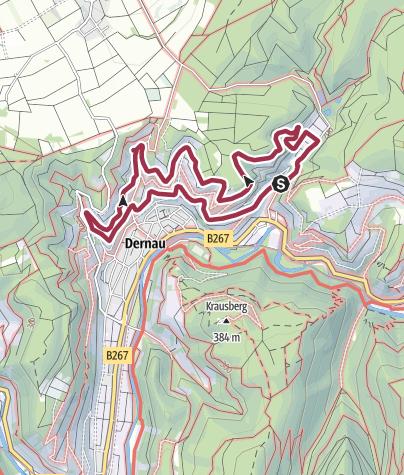 Karte / Zwischen Marienthal und Dernau - mit Hunden