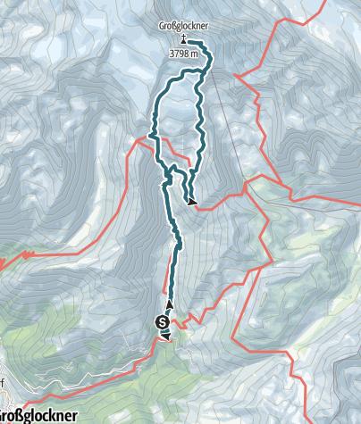 Karte / Großglockner 3798m