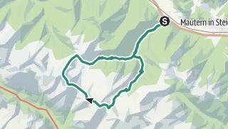 Karte / Seckauer Tauern: Maierangerkogel (2356m) und Hochreichart (2416m) - von Liesingau