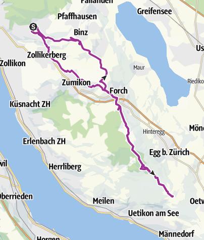 Karte / Rund um den Pfannenstihl