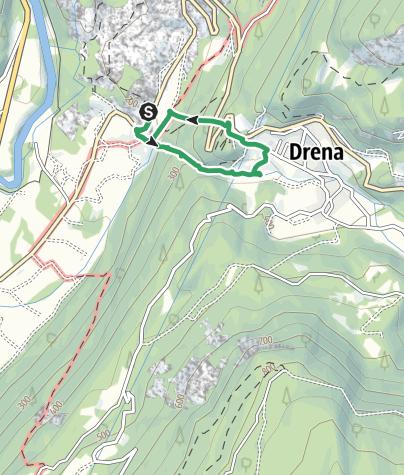 Karte / Via Ferrata Rio Sallagoni
