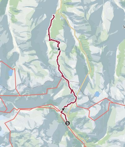 מפה / Felbertauern-Überschreitung (Alpenhauptkamm)