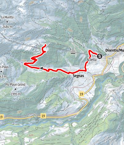 Karte / Salomon Trail Caischavedra