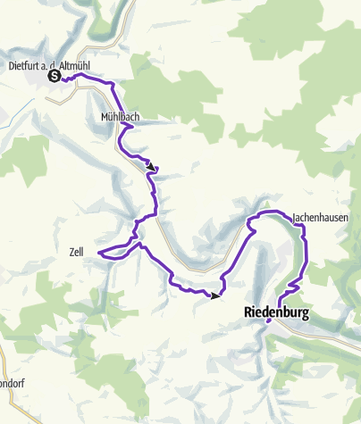 Map / JUNUT 2020 Etappe 1