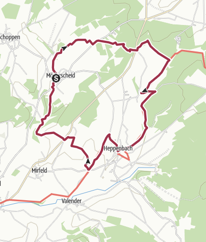 Map / Möderscheid-Heppenbach