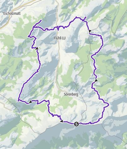 Karte / Flühli Ultra Trail