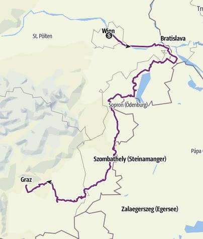 Hartă / Tourenplanung für 2018 2. Septemberhälfte