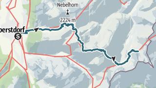 Map / Alpenquerung: Tag 1