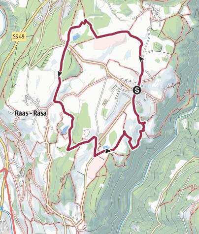 Cartina / Il sentiero delle mele di Naz-Sciaves