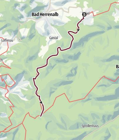 Carte / 4. Tag 2018 Dobel - Kaltenbronn