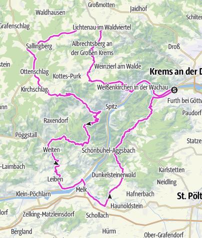 Karte / Krone Champions Radmarathon 2020