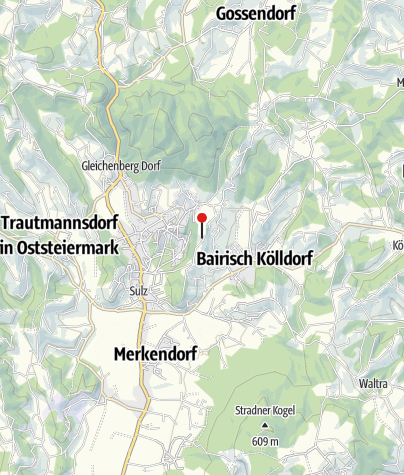 Karte / Parapluie-Warte auf der Albrechtshöhe