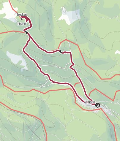 Karte / Brockenaufstieg.gpx