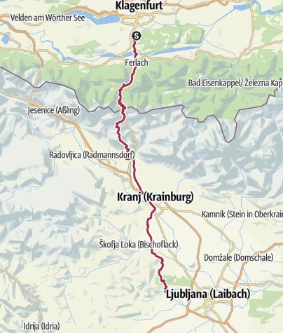 Map / Hike2018