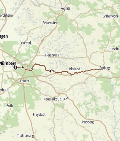 Map / FAV, Weg-Nr.023: Anton-Leidinger-Weg, Blaustrich