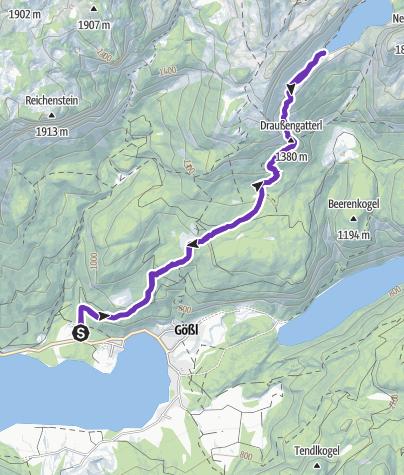 Karte / Lahngangsee