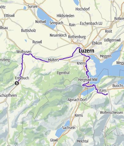 Karte / Run to the City - Ämmeuferweg