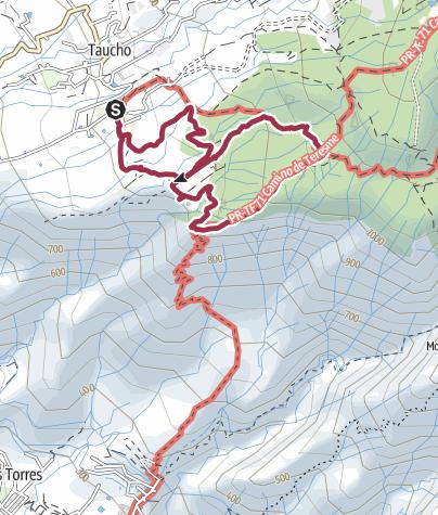 Map /  13. November 2017 El Cielo Montagswanderung ab La Quinta