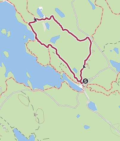 Karte / Stigmansrundan im Tiveden Nationalpark
