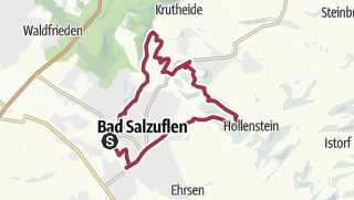 Map / B+H-2017-12-07: Bad Salzuflen - Bismarkturm - Stumpfer Turm
