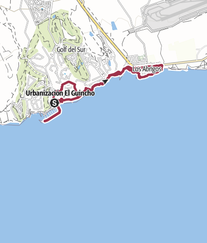 Karte / 17. November 2017 Teneriffa Süd Küstenwanderung ab Marina San Miguel
