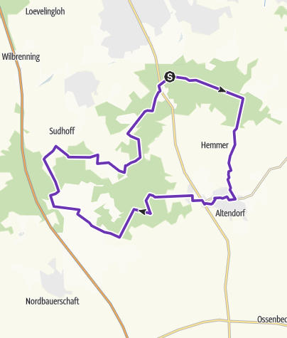 Map / 26km from Hiltruper See