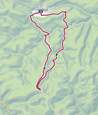 Karte / Iggelbach Taubensuhl-Tour