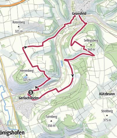 Karte / LT 13 Kloster, Kirchen, Fachwerk