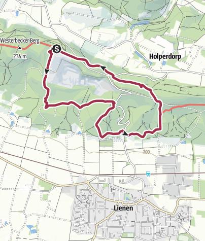 Karte / 9. Etappe am 25. November 2017