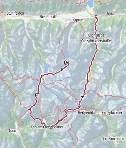 Map / Glockner Runde (special variation)