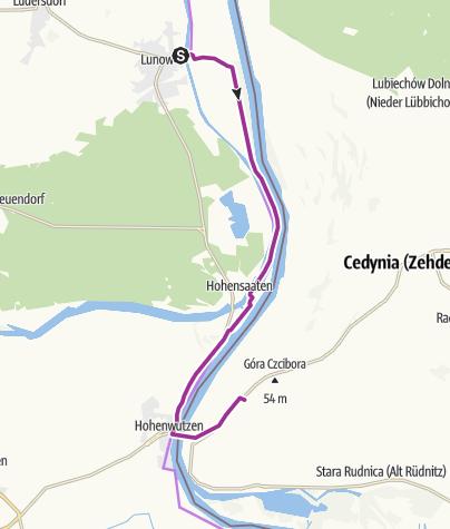 Karte / Cedynia