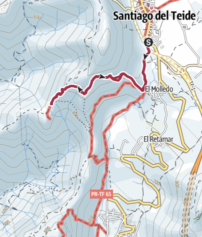 "Map / 6. Dezember 2017Nikolauswanderung "" Risco Blanco """