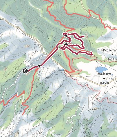 Map / Calheta - Levada das 25 Fontes & Risco