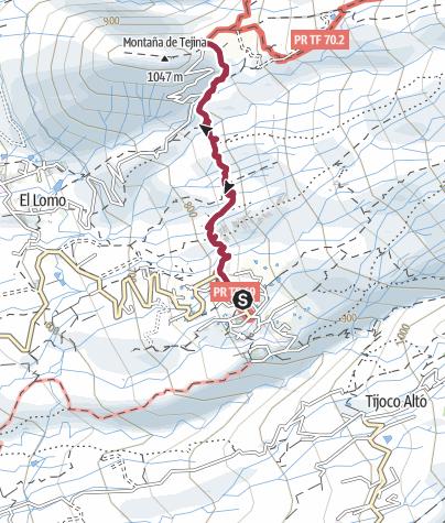 Karte / 13. Dezember 2017 Barrancowanderung Las Fuentes und zurück
