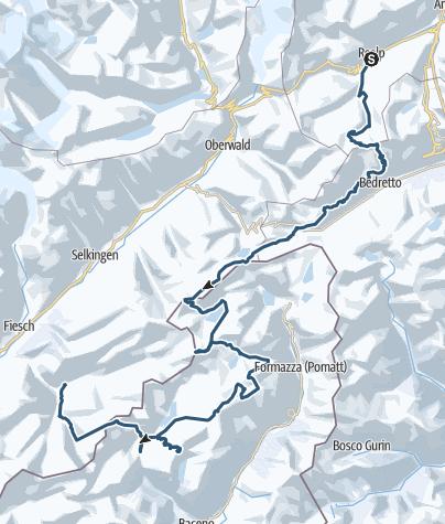 Karte / Tour de soleil / Tour planned at December 17, 2017